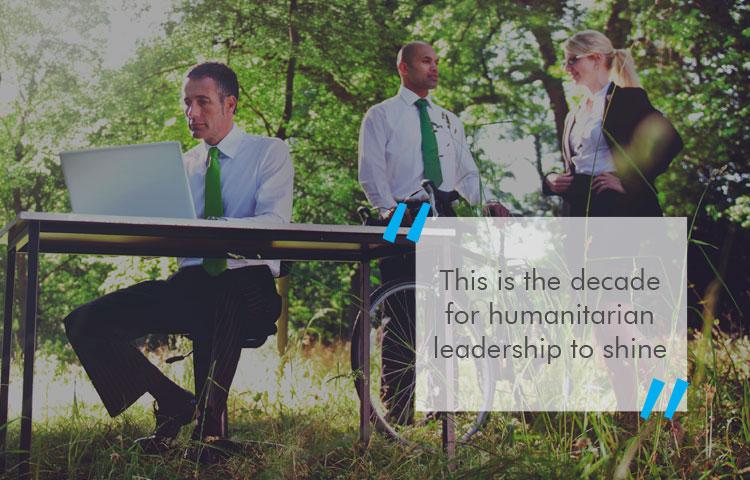 Introducing the HUMANitarian leader